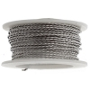 Twisted Artistic Wire 3Yd 20ga Stainless Steel
